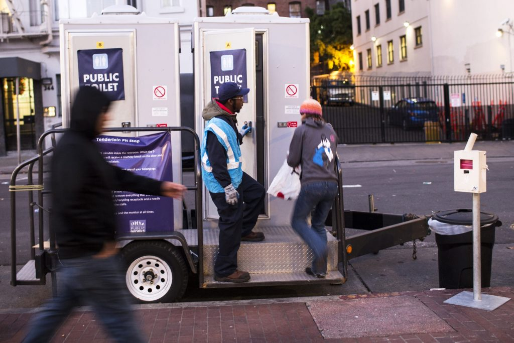 Portland's Plan: Porta Potties for the homeless