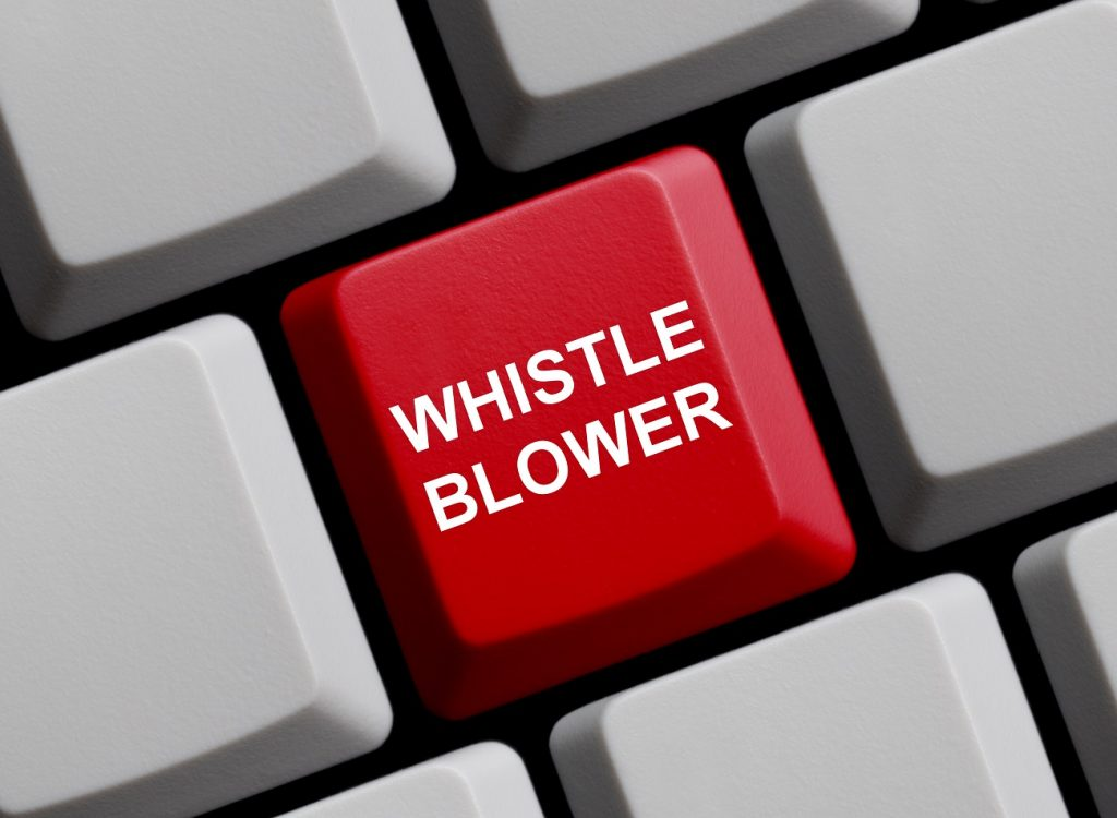 "Real whistleblower blasts Swamp ""whistleblower"""