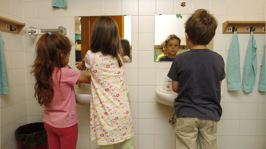 Teachers Union demands kids share bathroom with transgender educators