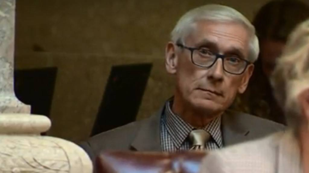 Evers vetoes Republican tax cut bill