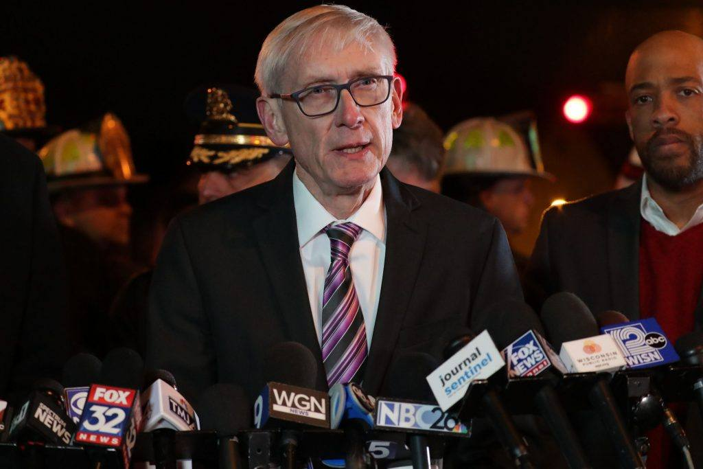 Is Evers following MMAC's 'shelter-in-place' recommendations?