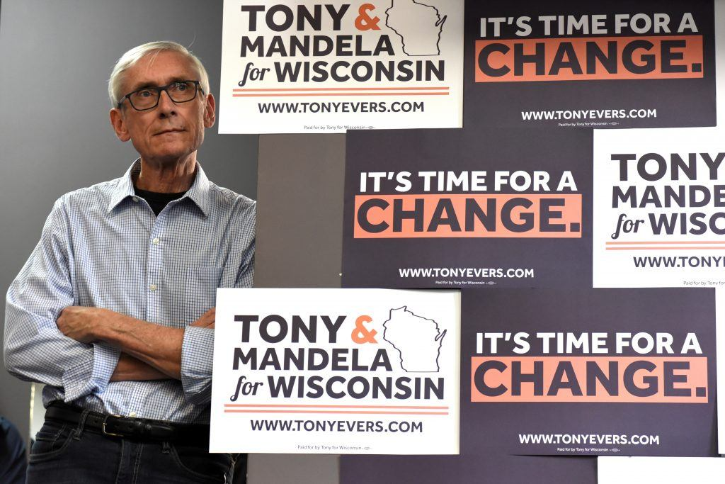 Evers shamelessly selling fear