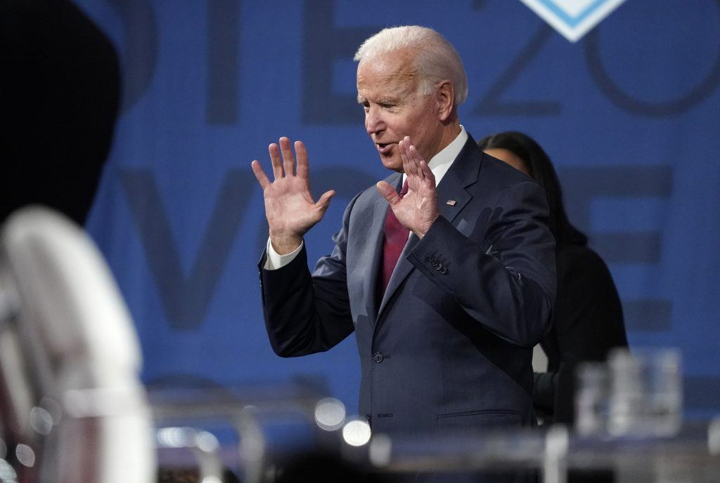 All Woke Up: White liberals unhappy about Biden's whiteness