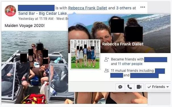 Dallet removes photo of boat ride to freedom