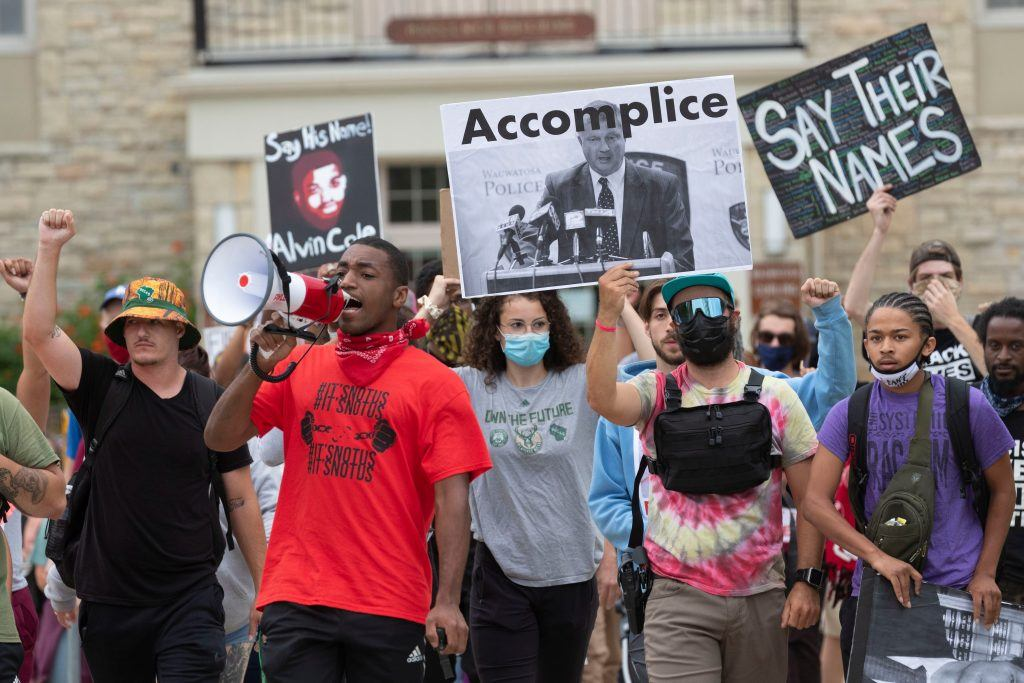 Will Chisholm charge BLM protesters?
