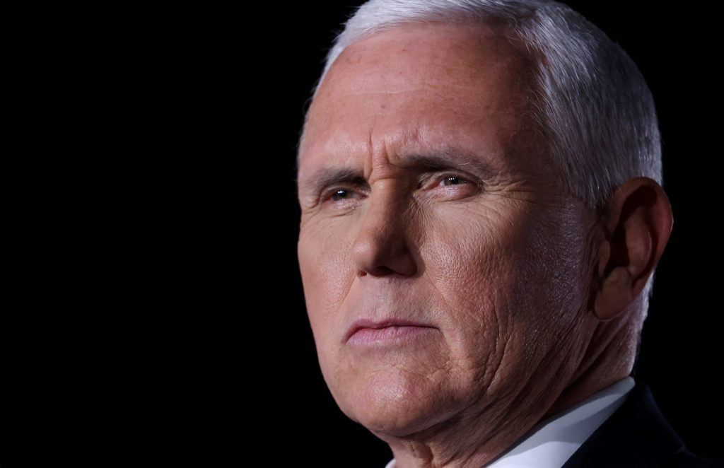 Pence: The violence must stop