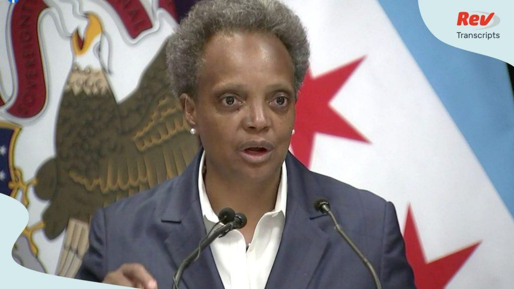 All Woke Up: Lori Lightfoot wakes up?