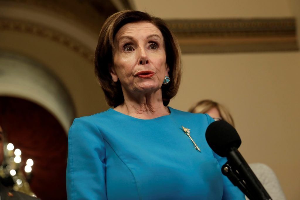 How does Evers feel about Pelosi with the mask-less face?