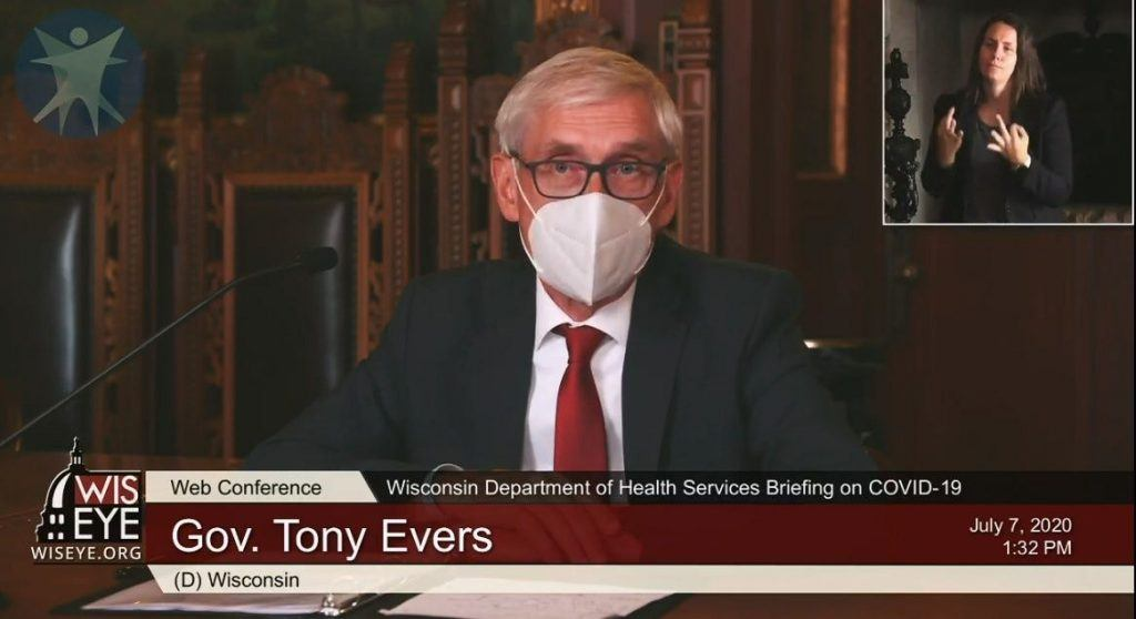 Evers extends illegal mask mandate