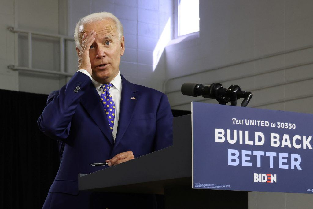 Biden botches Pledge of Allegiance