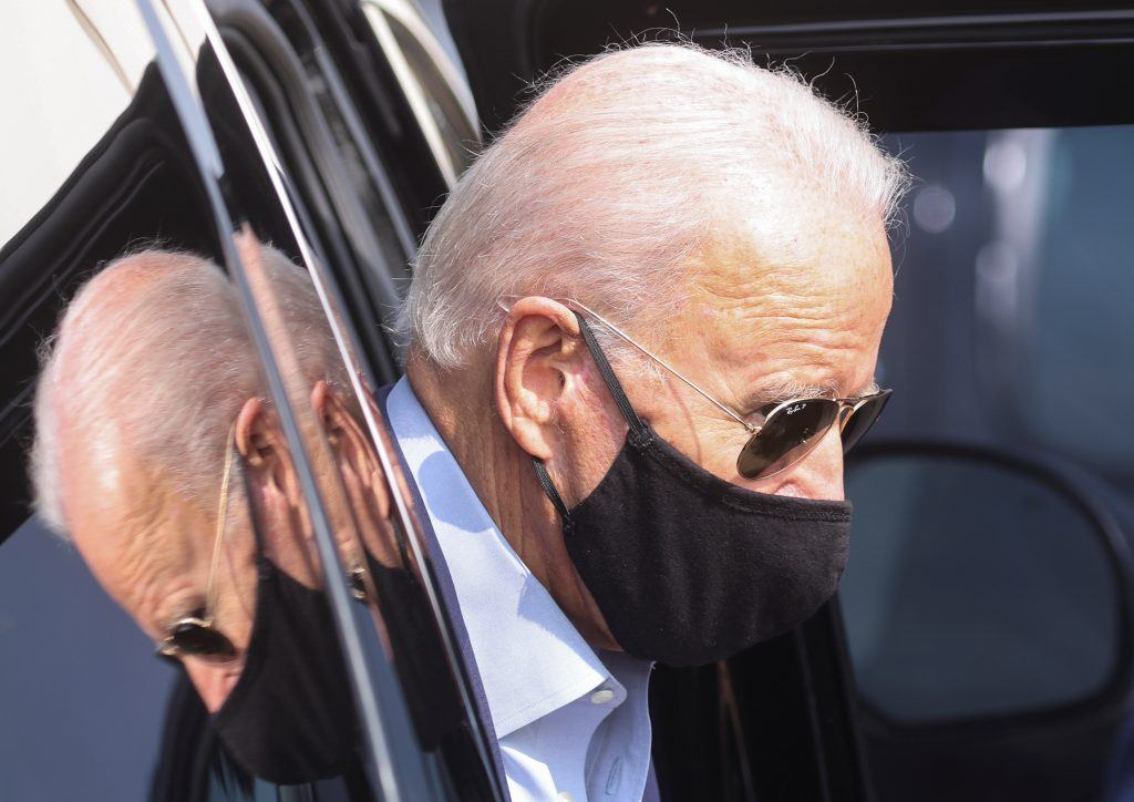 Pushing Biden