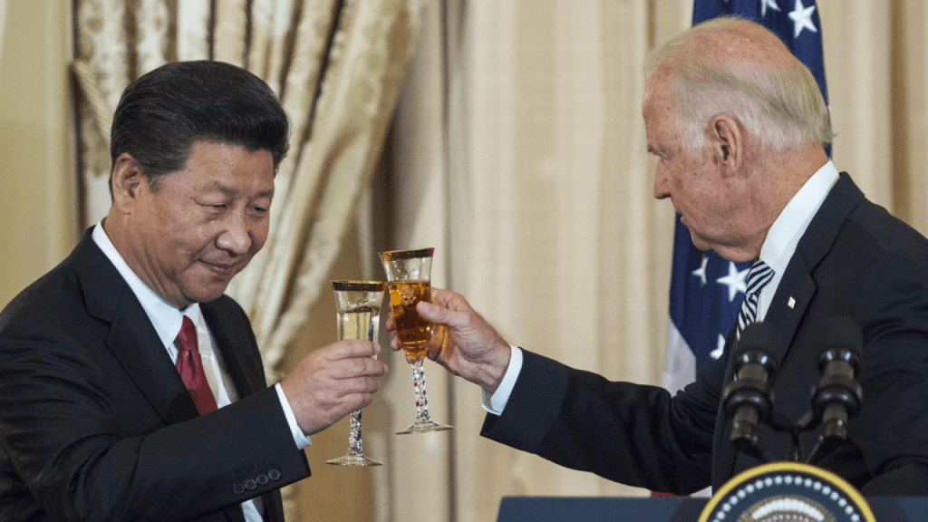 Selling Joe Biden in China