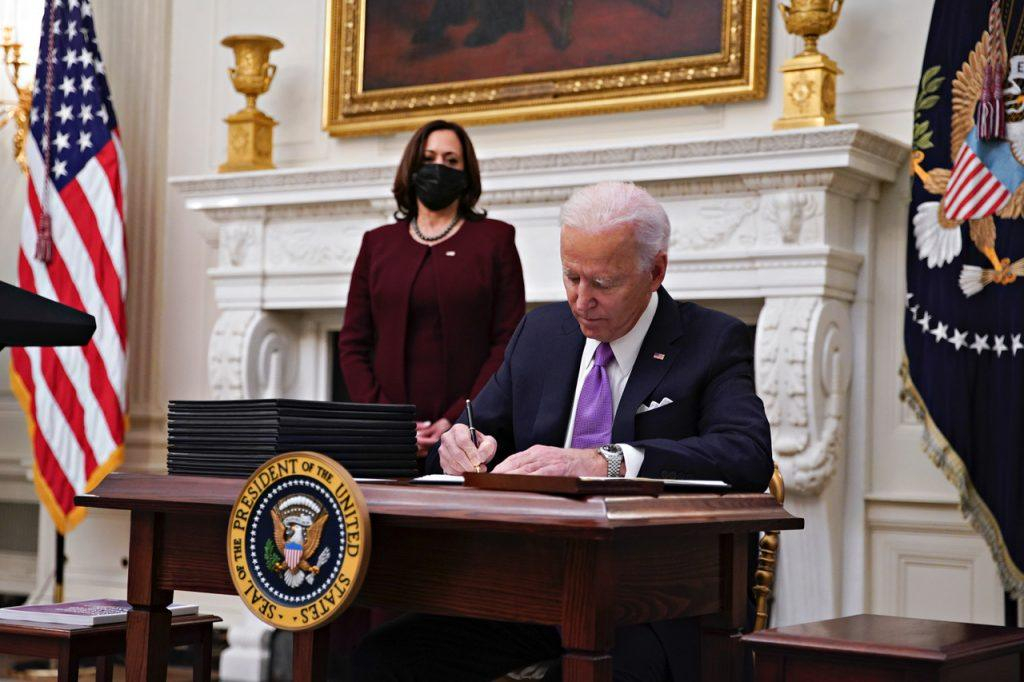 Biden's first order of business: Erasing Trump