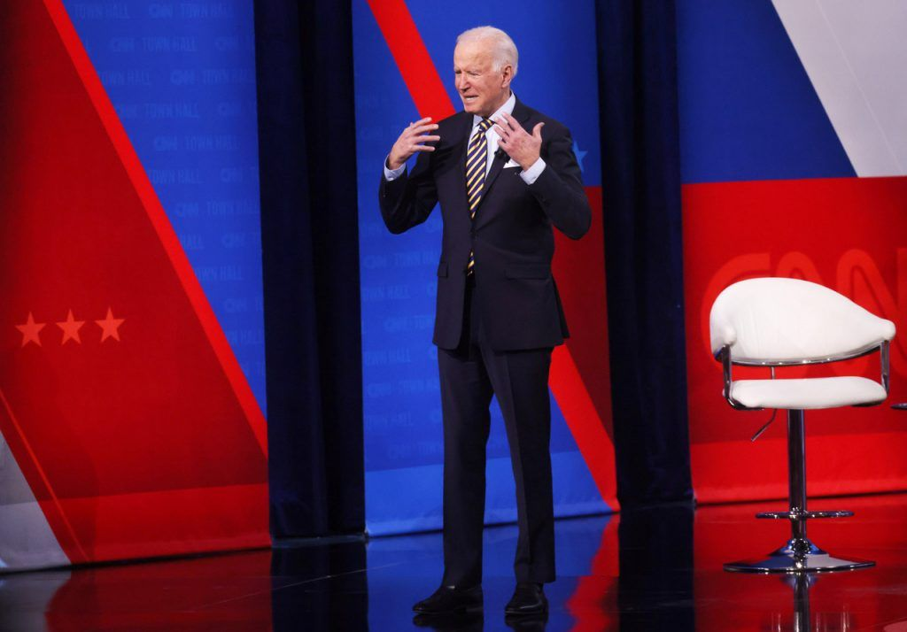 Biden's Red State/Blue state COVID response