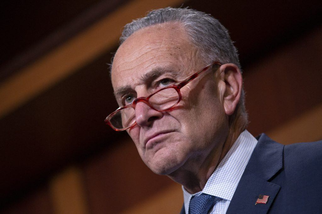 What about Chuck? Schumer incited violent mob