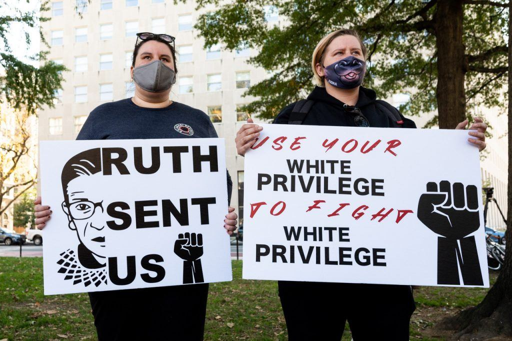 All Woke Up: 'White people can't experience racism'