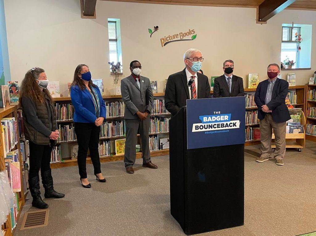 Evers tells state employees to mask up