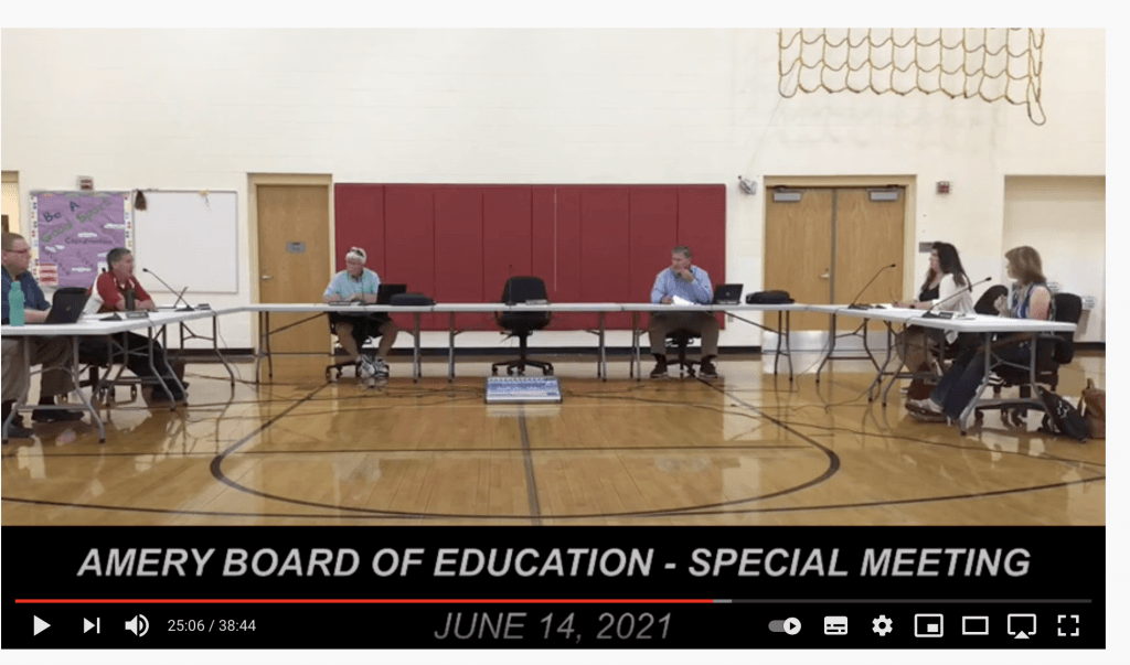 Tool of the Week: Ironically offended school board member