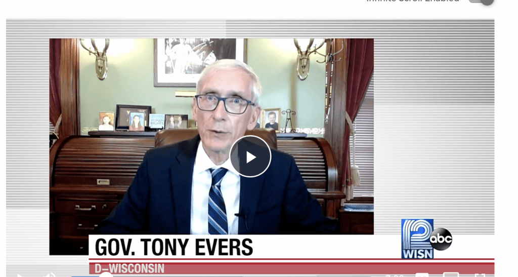 Evers defying the law again